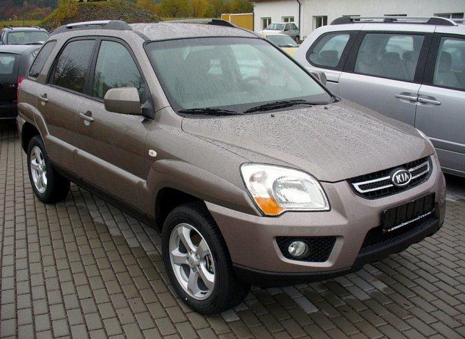 Kia - Sportage II (facelift, 2008)
