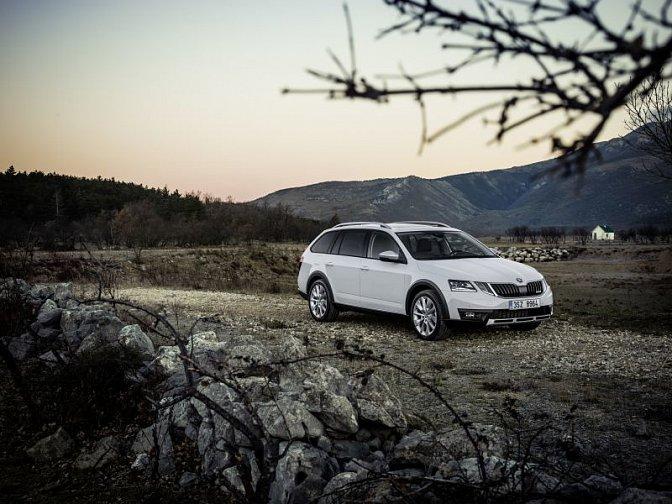 Škoda - Octavia III Scout (facelift 2016)