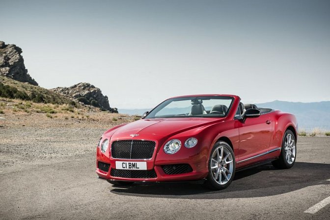 Bentley - Continental GT II convertible (facelift 2015)