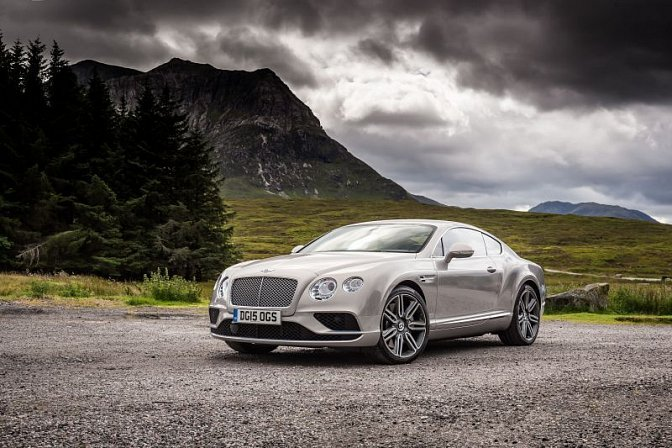 Bentley - Continental GT II (facelift 2015)