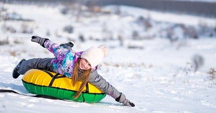 Snowtubing v Česku