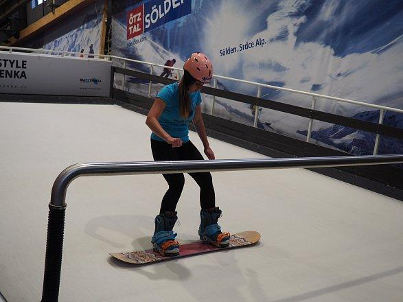 Snowboard je více o tom, zdali se bojíte či nikoliv