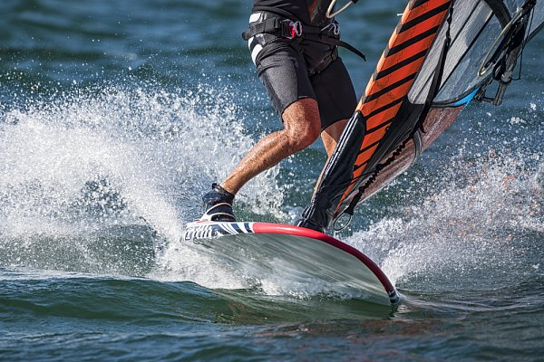 Aktivita Windsurfing Nechranice