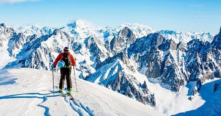 Skialpinismus v Alpách