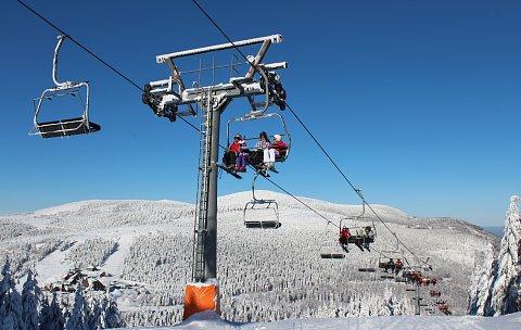 Lanovka ve Ski areálu Červenohorské sedlo