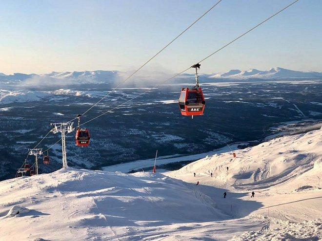 Lyžování ve Skandinávii