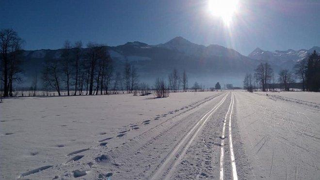 Běžkařské trasy u Zell am See