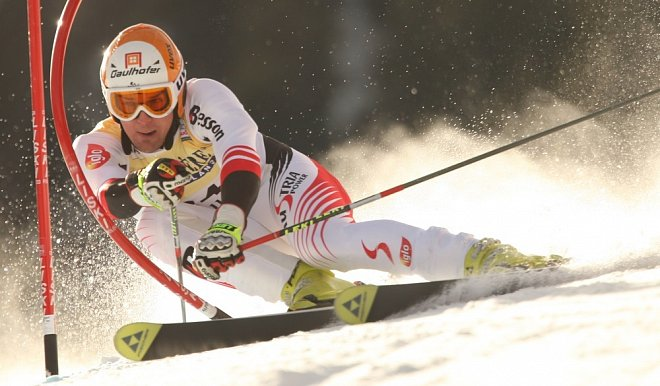 Slalom na lyžích