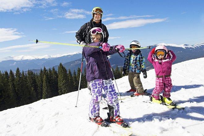 Všestranost u dětí je základní předpoklad k rychlému zvládnutí lyžování