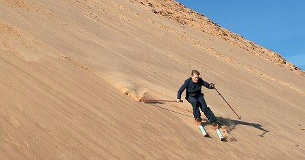 Netradiční lyžování v Africe