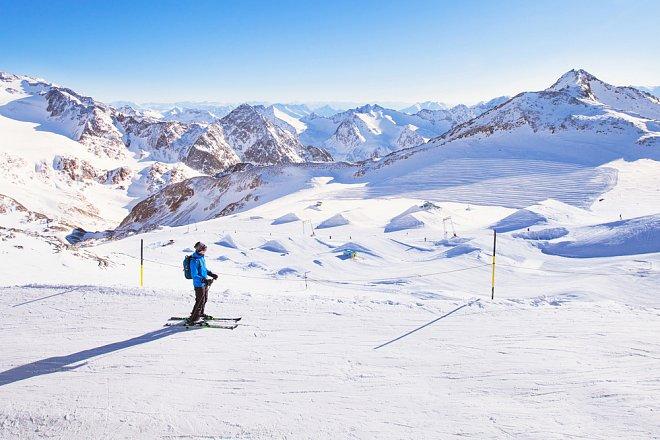 Ski areál Stubai