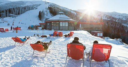 Opalovačka ve ski areálu Chopok