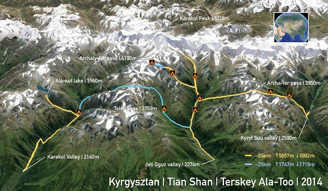 Kyrgyzstán (Nahráno: Kateřina Kanová)