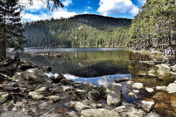Aktivita Čertovo jezero