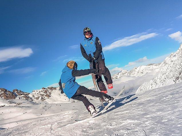 Lektoři snowboardové školy