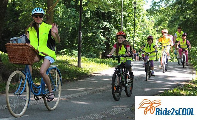 Unikátní projekt Ride2sCOOL v Olomouci