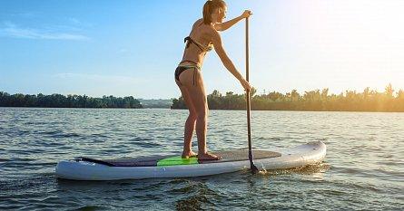 V Čechách je paddleboarding relativně nový, ale do našich podmínek jako dělaný!
