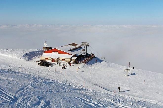 Ski areál Vrátna na Slovensku