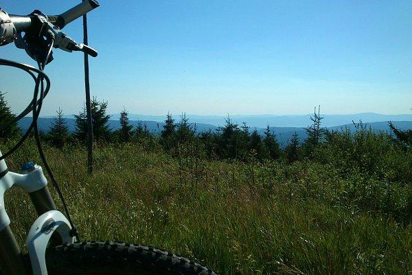 Ski Na kole z Rokytnice v Orlických horách do Hradce Králové