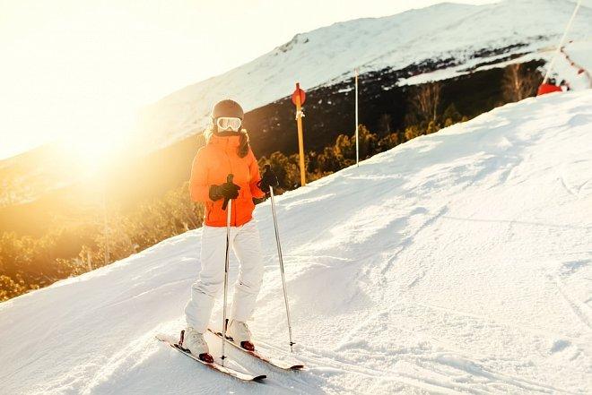 lyžování v těhotenství
