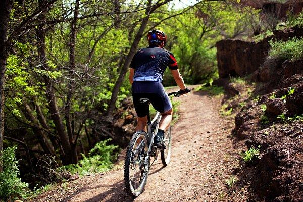 Aktivita Single trails Dolní Morava