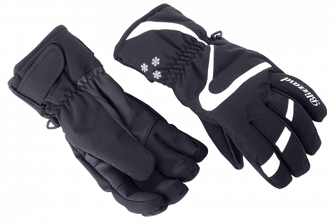 Dámské stretch softshellové rukavice sdlaní zkozí kůže, která je pro tento účel ideální