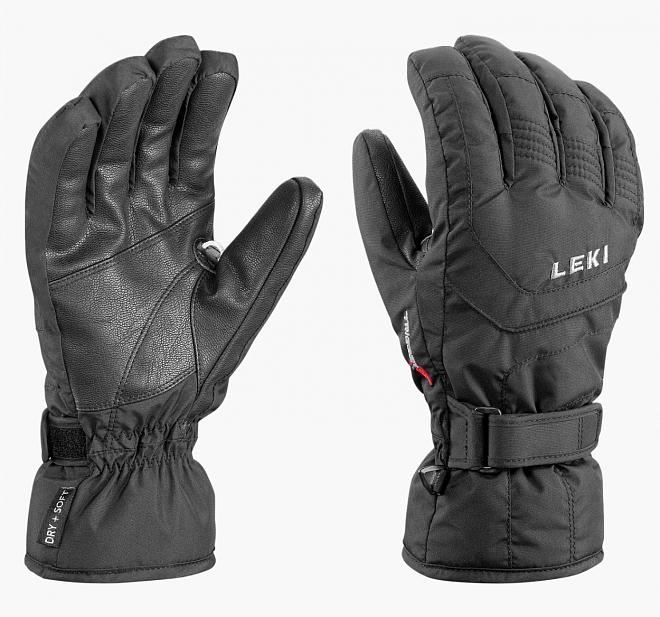 Tyto rukavice zateplené membránou Soft-Tex, která dle výzkumů Leki dosahuje ideální propustnosti a nedovoluje rukám nadměrně se potit, jsou vybaveny systémem Trigger S. ten umožňuje připnout kompatibilní hůlky bez nutnosti použití klasického poutka hole